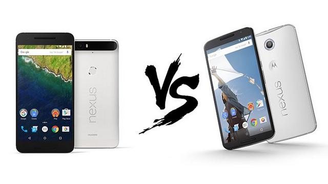 Huawei Nexus 6P ve Motorola Nexus 6 Karşılaştırması
