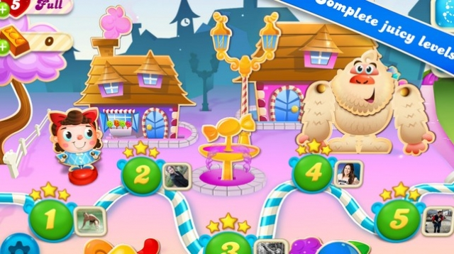 King, Candy Crush Soda Saga'yı Tanıttı!