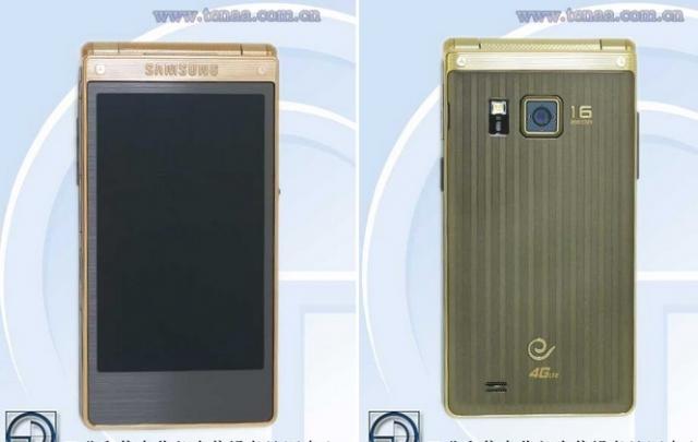 Samsung'un Kapaklı Telefonu Galaxy Golden 2'nin Fotoğrafları Sızdırıldı