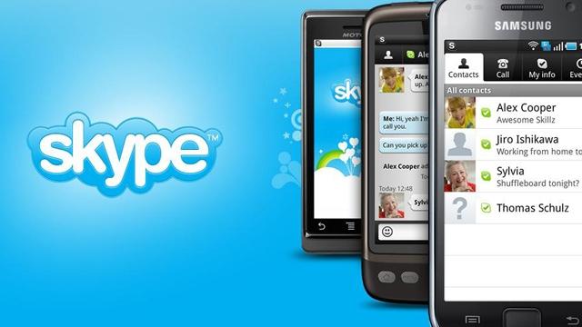 Skype'ın Mobil Sürümüyle Artık Grup Konuşması Yapılabilecek