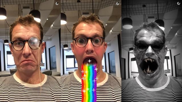 Snapchat İlginç Filtrelerini Artık Mağazasından Satacak!