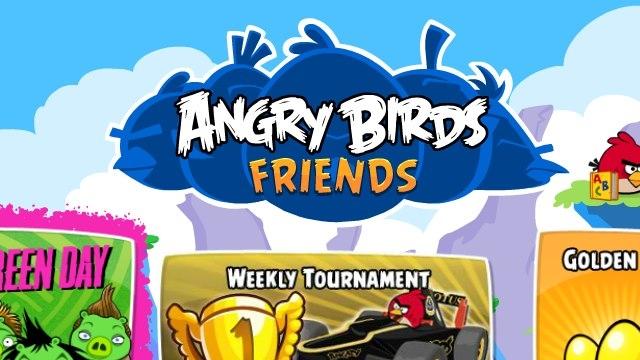 Angry Birds Friends Mobile Taşınıyor