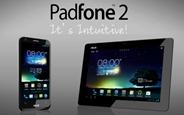 ASUS, Yenilikçi Padfone 2 Akıllı Telefonunu ve Tablet İstasyonunu Tanıttı