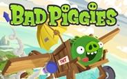 Rovio'nun Yeni Oyunu Bad Piggies Çıktı