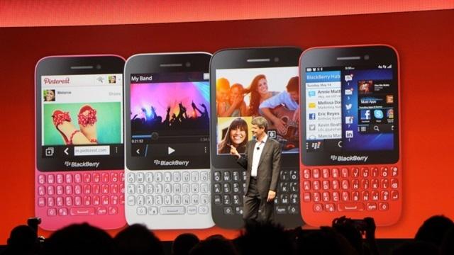 BlackBerry Q5 İsimli Akıllı Telefon Tanıtıldı