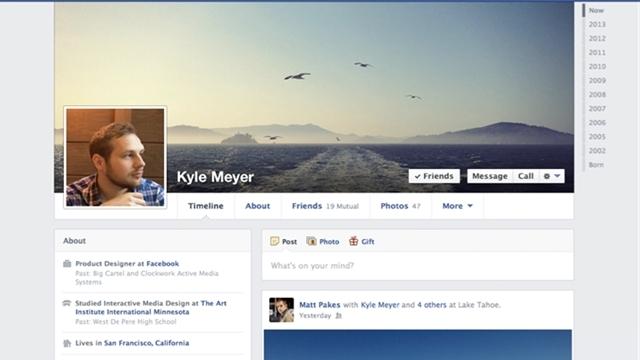 Facebook Zaman Tüneli Yeniliklerini Açıkladı