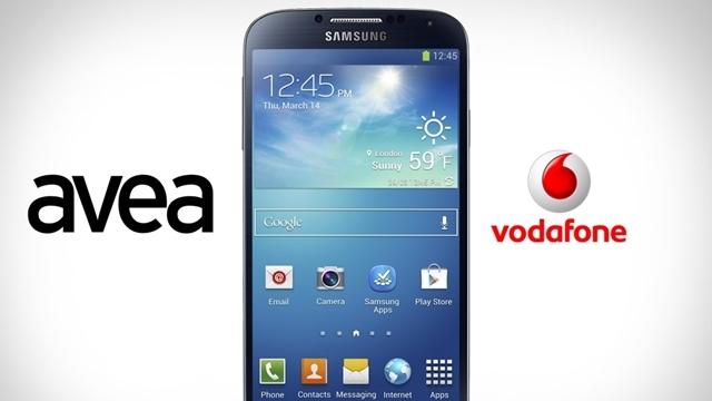 Vodafone ve Avea, Galaxy S4 İçin Ön Talep Sayfası Oluşturdu