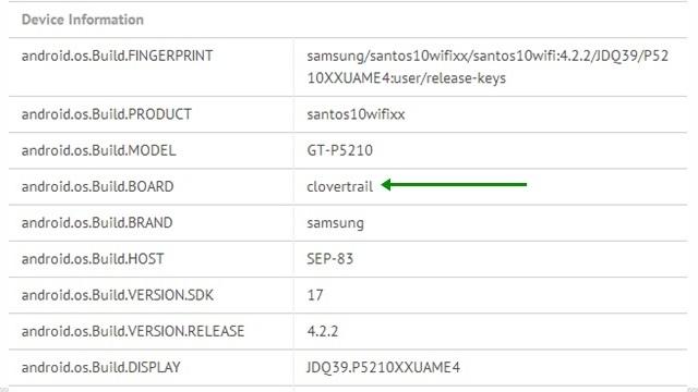 Samsung Galaxy Tab 3 10.1 Intel İşlemciyle mi Geliyor?