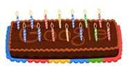 Google, 14. Doğum Gününü Pastalı Doodle ile Kutluyor