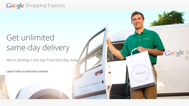Google'dan Kurye Hizmeti: Google Shopping Express