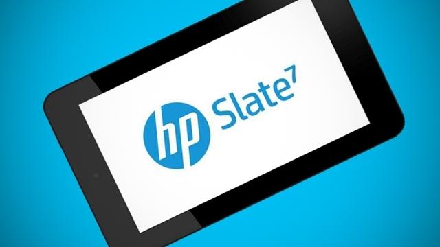 HP, Ekonomik Tablet Slate 7'yi Tanıttı