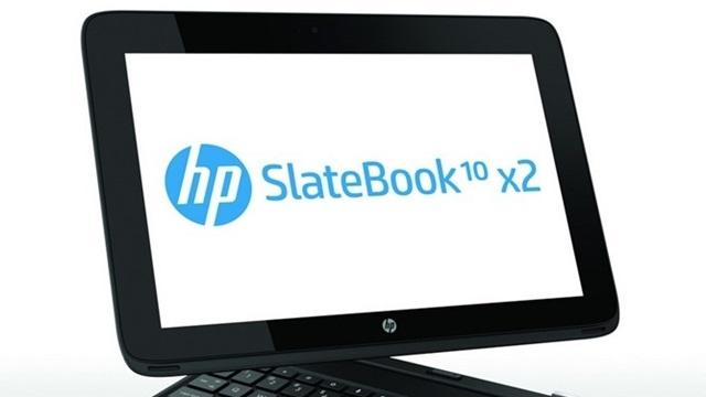 HP, Tablet Dizüstü Melezi SlateBook x2'yi Tanıttı