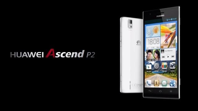 Huawei Ascend P2 Akıllı Telefon Duyuruldu