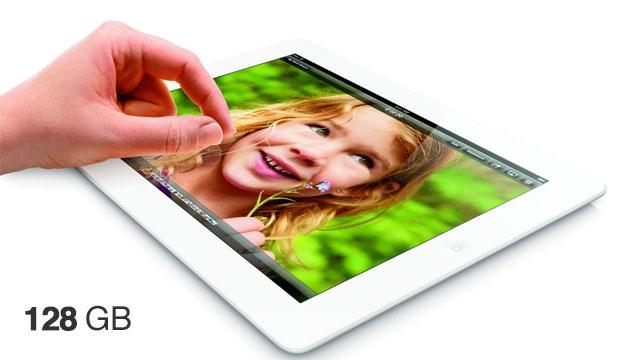 128 GB'lık Yeni iPad Satışa Çıktı