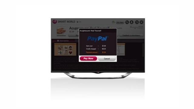 Üzerinden Ödeme Yapılabilen İlk Akıllı TV LG ve PayPal İş Birliğiyle Geliyor