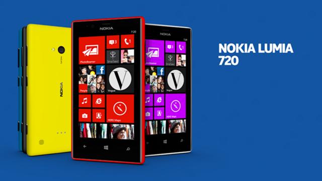 Nokia Lumia 720 Tanıtıldı