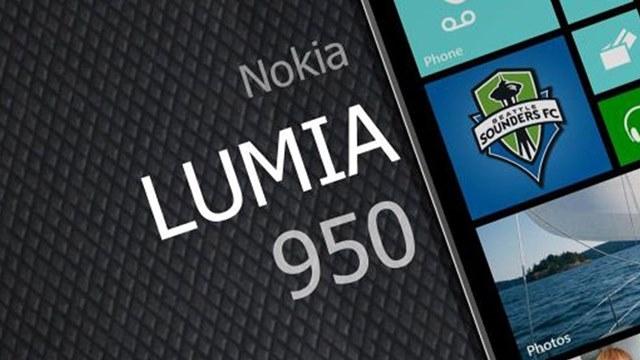 Nokia Lumia 950 Görüntülendi
