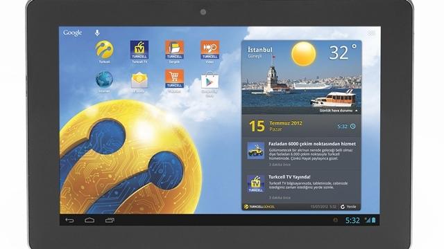 Turkcell Tablet Tanıtıldı