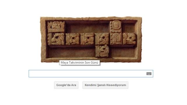 Maya Takvimi Doodle'ı