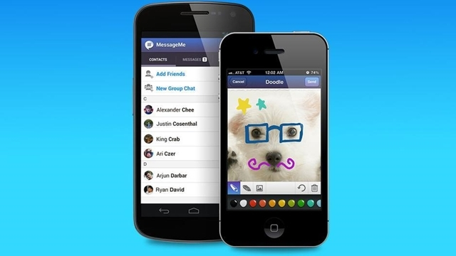 Yepyeni Alternatif Mobil Mesajlaşma Uygulaması: MessageMe
