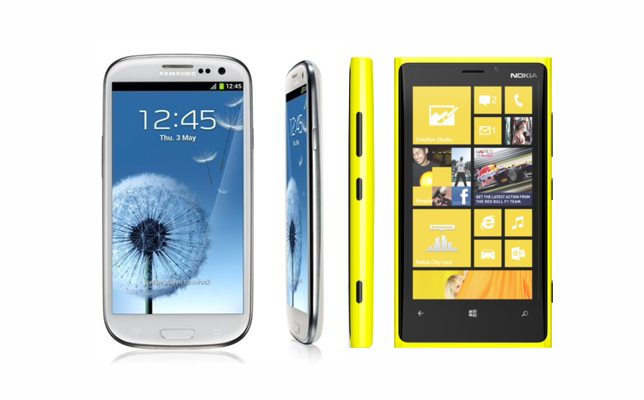 Galaxy S3 ile Lumia 920 Karşılaştırması