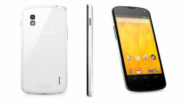 Nexus 4'ün Siyah Beyaz Renkli Modeli Görüntülendi