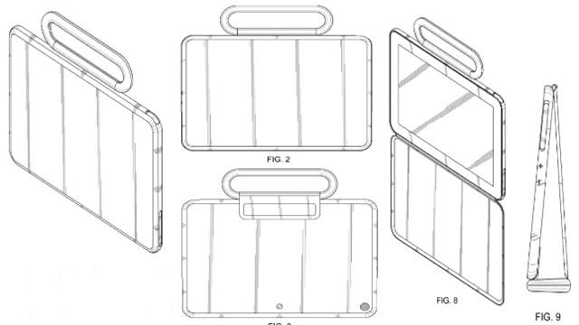 Samsung'un Esnek Ekranlı Tablet İçin Patent Başvuruları Ortaya Çıktı