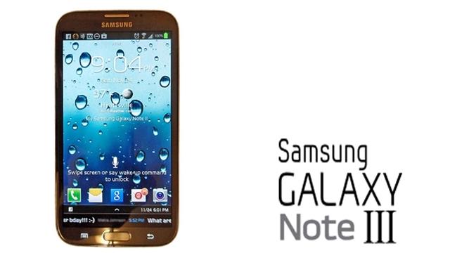 Samsung Galaxy Note 3 IFA 2013 Etkinliğinde Tanıtılabilir