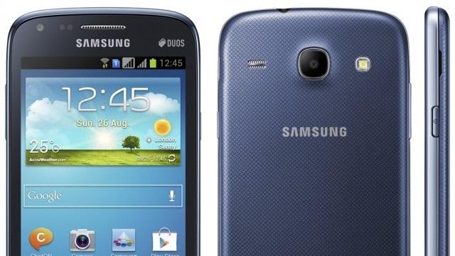 Samsung Galaxy Core İsimli Yeni Akıllı Telefonu Tanıttı