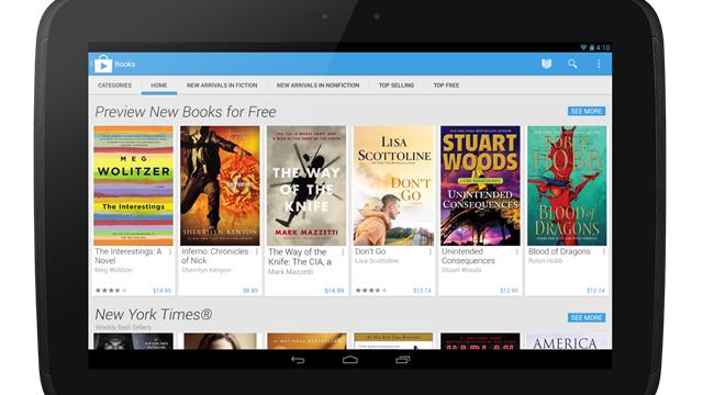 Google Play Mağazası'na Yepyeni Bir Bakış