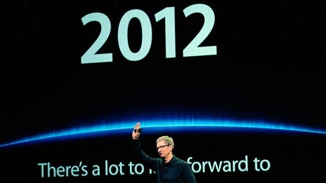 2012'de Apple'da Neler Oldu?