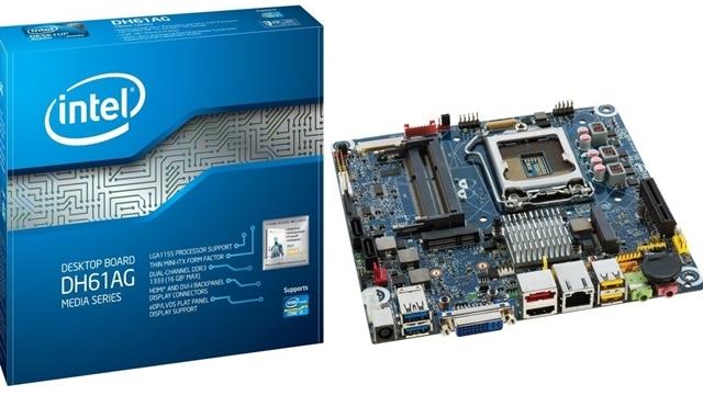 Intel, DH61AG Masaüstü Anakartı için Yeni BIOS Çıkarıyor