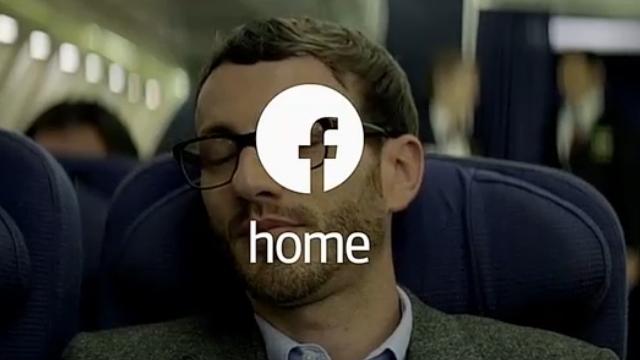 Facebook Home ve HTC First Birlikte Tanıtıldı
