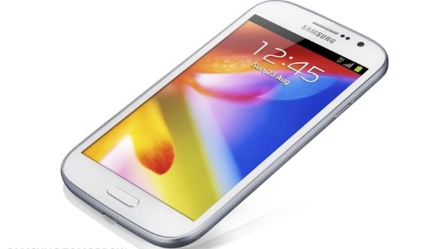 İşte Samsung'un Yeni Galaxy Grand Akıllı Telefonu