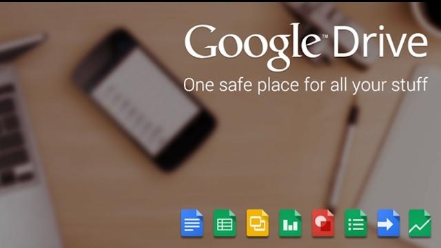 Google Android İçin Drive Uygulamasını Yeniledi