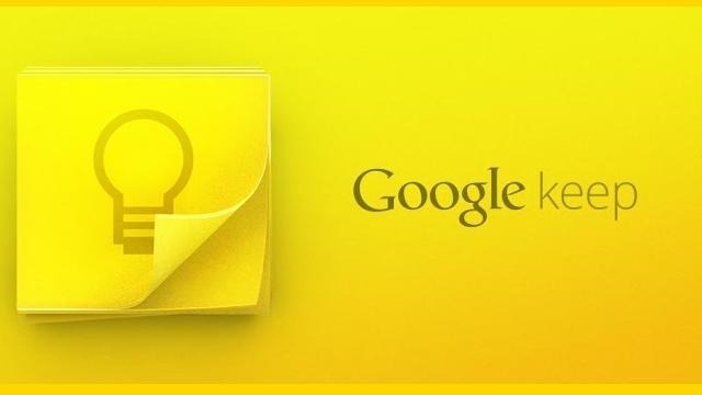 Google Keep İle Bir Başlangıç Yapın