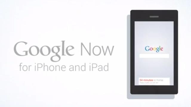 Google Now iOS İçin Yayınlandı