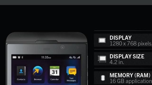 BlackBerry L Serisinin Ayrıntıları Belli Oldu