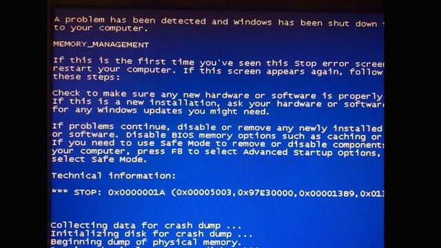 Artık Bilgisayarlarınız Çökmeyecek