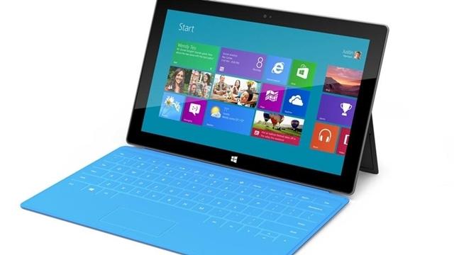 Geçen Çeyrekte Sadece Bir Milyon Surface Tablet Satıldı
