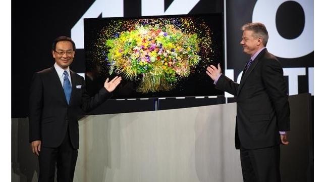 Panasonic 4K OLED'in İlk Örneğini Tanıttı - CES 2013