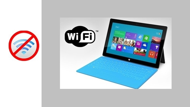 Surface'deki Wi-Fi Hatası