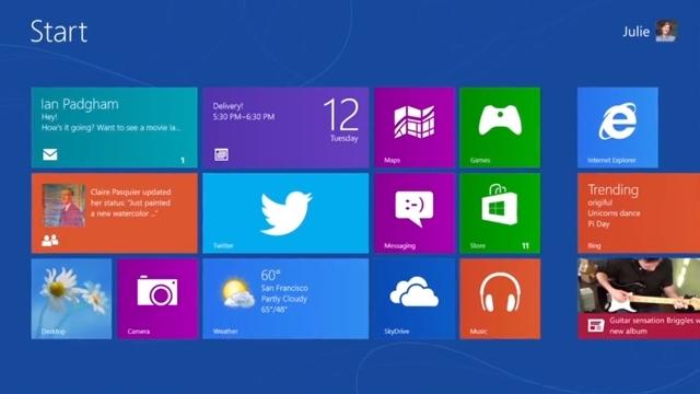 Twitter'ın Windows 8 Uygulaması Kullanıma Açıldı