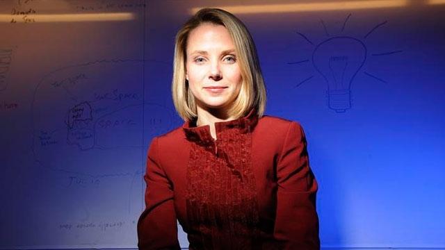Yahoo'nun CEO'su Marissa Mayer Planlarını Mobilden Yana Yapmayı Sürdürüyor