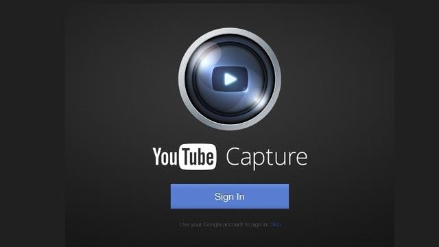iPad ve iPad Mini İçin YouTube Capture Uygulaması Yenilendi