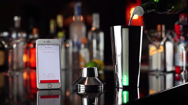 Akıllı Shaker ile Sevdiğiniz Kokteylleri Hazırlamak Çok Kolay