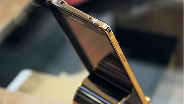 Altın Kaplama Samsung Galaxy Note 4 Ortaya Çıktı