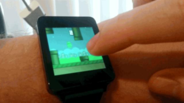 Android Wear için Geliştirilen İlk Oyun; Flopsy Droid