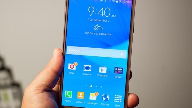 Galaxy Note 4 için İlk Güncelleme Yayınlandı