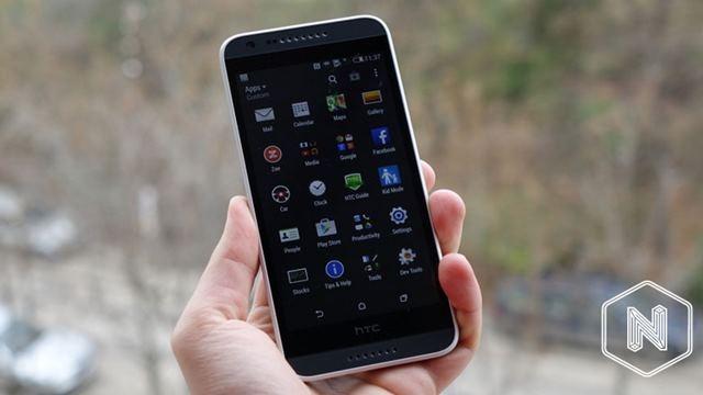 HTC Desire 620 Göründü